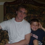 Nick and littlest cousin Peter