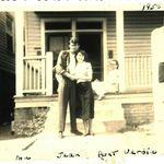 Otis and Jean with Aunt Verdie