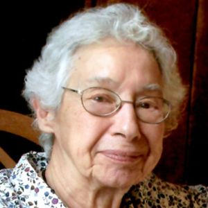 Marion L Renstrom Obituary Photo