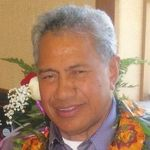 Portrait of Sione Toumoua Haupeakui