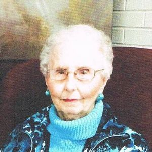 Mrs. A. Voy  Alderman Obituary Photo