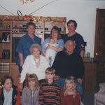 Mom, me, baby tyler, Rod Grandma B, Grandpa sonny Patrick, Courtney, Ryan, :Lacey