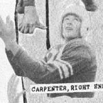 Harry Carpenter 1949 High School Football Photo