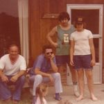 Paul, JC, Mike, Tom and Jennifer at Muddy Creek Road.