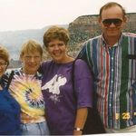 Janet, Joanna, Wendy, and Paul traveling the Southwest.