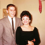 Sharon and Husband Kenny 1961ish