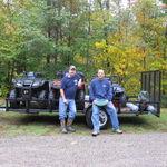 Shawn & Steve gettin' ready to go find some gooooold!