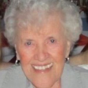 "Margaret F. ""Peg"" Bowman Obituary Photo"