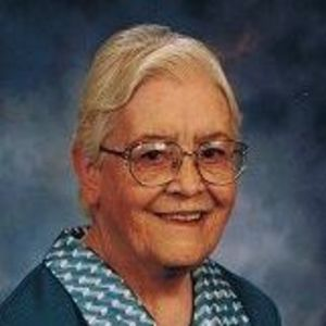 Sister Alma Joseph Miller, RSM Obituary Photo