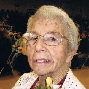 Mrs.  Mercedes F. (Burrows) Johnson Obituary Photo