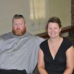 Richard's nephew and wife, TK and Saskia Keller