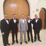 At Nick's wedding