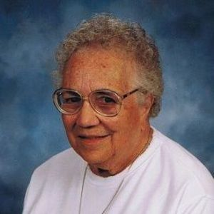 Sr. Mary  Jean Ritti, RSM Obituary Photo