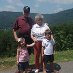 Lake Lure with Mimi and Papa Bill
