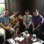 Visited Gloria and Chung-Wen at Fort Wayne, and enjoyed lovely fellowship time together.