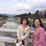 March 23rd, 2017. Kamo River, Kyoto.