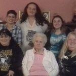 Lillian, Joyce, Dina, and Girls