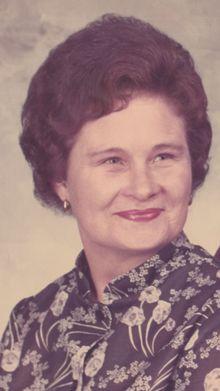 Mrs. Johnnie Jean Sanford
