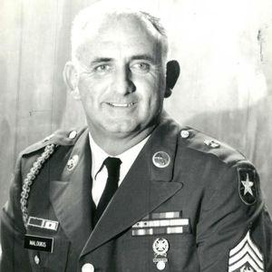 Command Sgt. Maj Themis John Maloukis, US Marines Ret.
