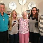 Jim, Tara, Grandma Ellrodt, Kelly, Robert