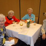 Sister Charlotte's 90th Birthday in Miami with cousin Bitty and sister Mary-Nelson.