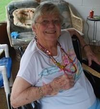 June Baker Moore obituary photo
